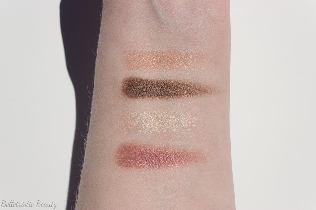 Chanel Seduction Quad Les 4 Ombres Quadra Eye Shadow Swatch, Jeux de Regards Collection in outdoor lighting