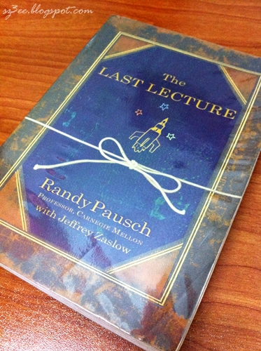 last lecture review book
