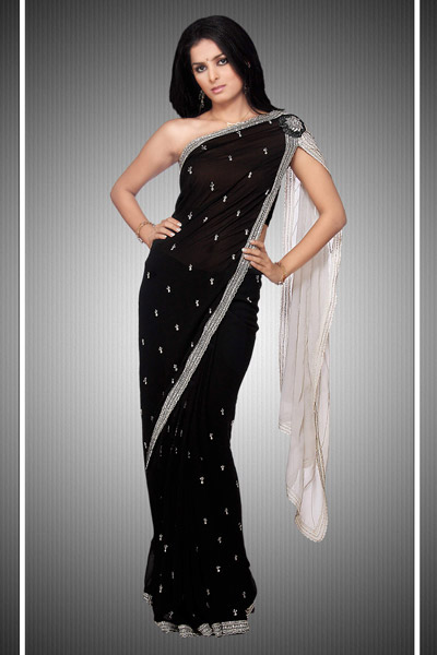 Different Types Of Party Wear Sarees 24