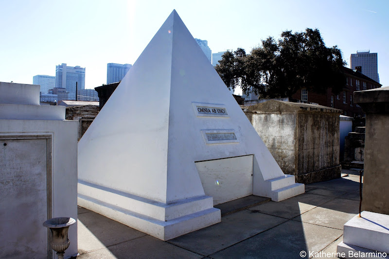 Nicolas Cage Pyramid Tomb Cemetery Walking Tour New Orleans