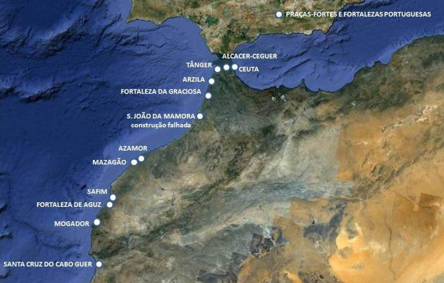 Fortifications portugaise au Maroc