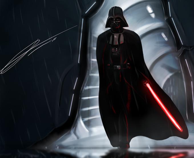 Darth Vader por Jordan Conlin