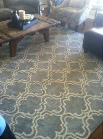 Scroll Tile Rug Pottery Barn Area Ideas