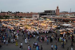 Place Fna El Jemma, Marrakech, Marokko