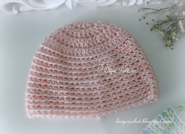 Crochet Stitches Stretch : Lacy Crochet: Preemie and Micro Preemie Baby Caps, Free Crochet ...