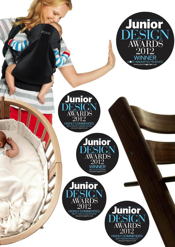 Stokke win Junior design awards