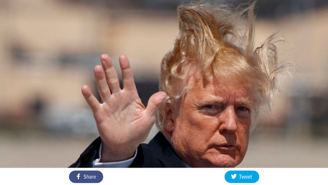 Enjoying The View One Day At A Time Take On Trump S Bad Hair Day