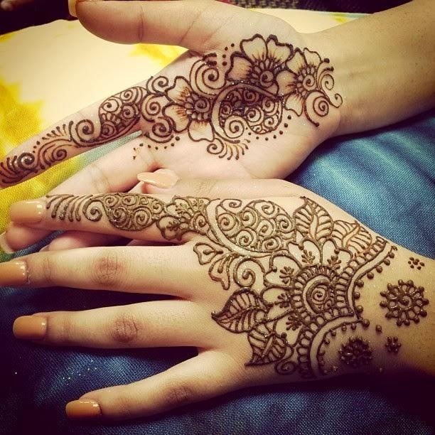 Arabic Henna Designs: Party Mehndi Designs For Hand