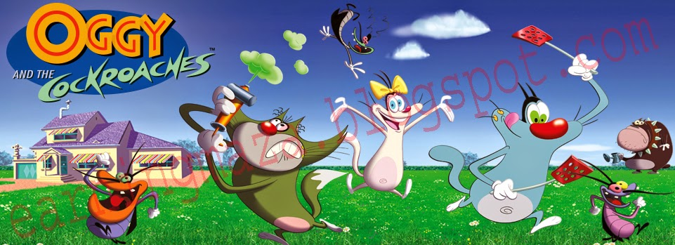 Cartoon Network Oggy And The Cockroaches