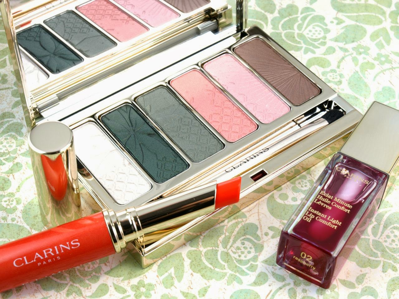 Clarins Spring 2015 Garden Eden Collection: Review and Swatches