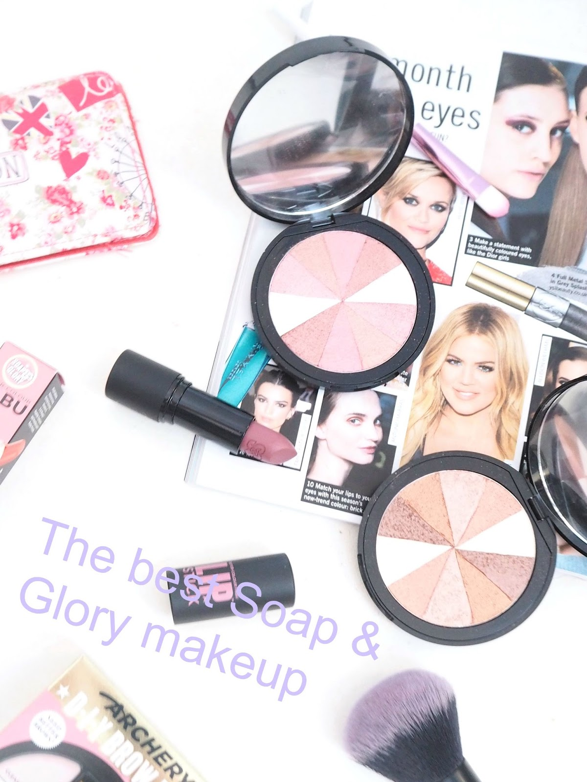 Top five soap and glory makeup