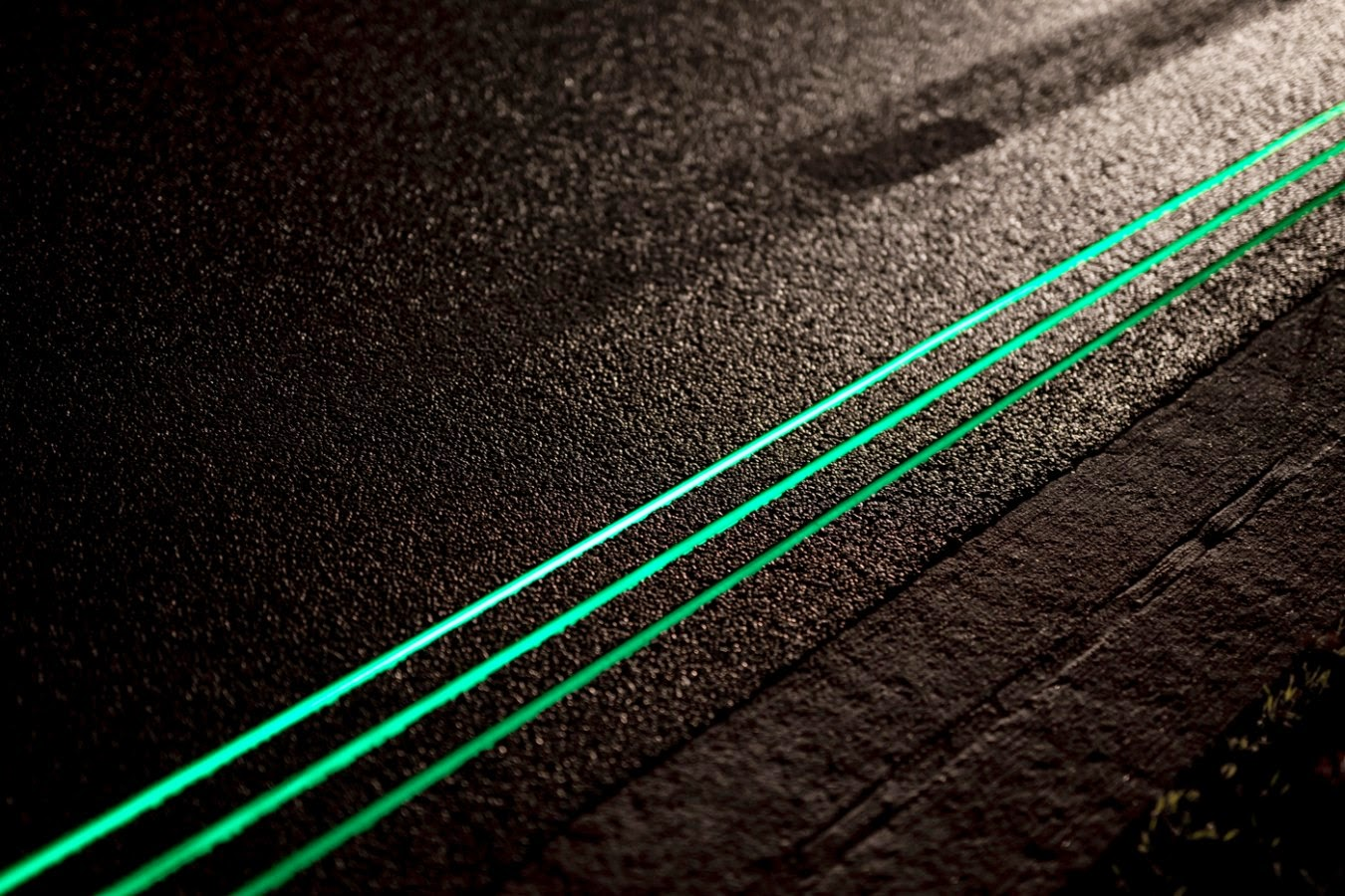 Glowing lines, por Daan Roosegaarde