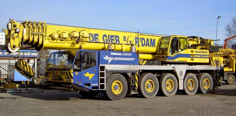 Rough Terrain Crane Wikipedia : Demag ac all terrain crane ton cranepedia