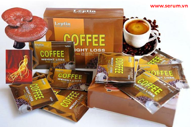 Coffee weight loss leptin USA Cafe linh chi giảm cân