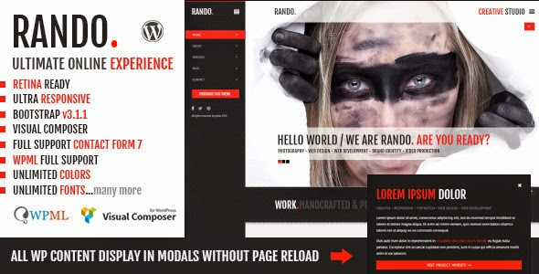 Ajax WordPress Template