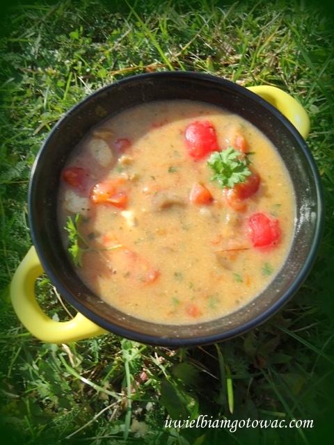 Tom Kha Gai - tajska ostra zupa z kurczakiem