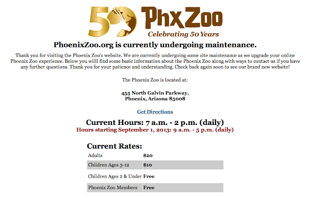 As a non-profit charitable organization the Phoenix Zoo provides experiences that inspire people and motivate them to care for the natural world.