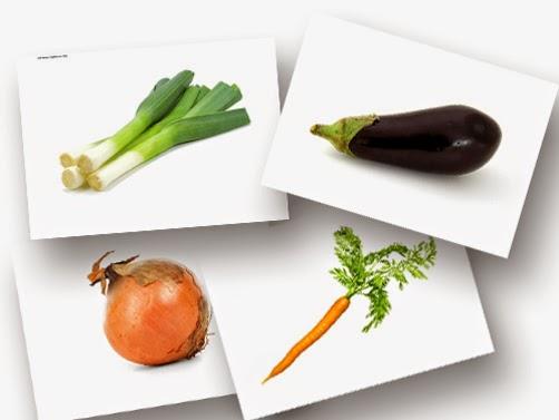 Bildkarten Gemüse - DaZ Material für die Sprachförderung in der Grundschule