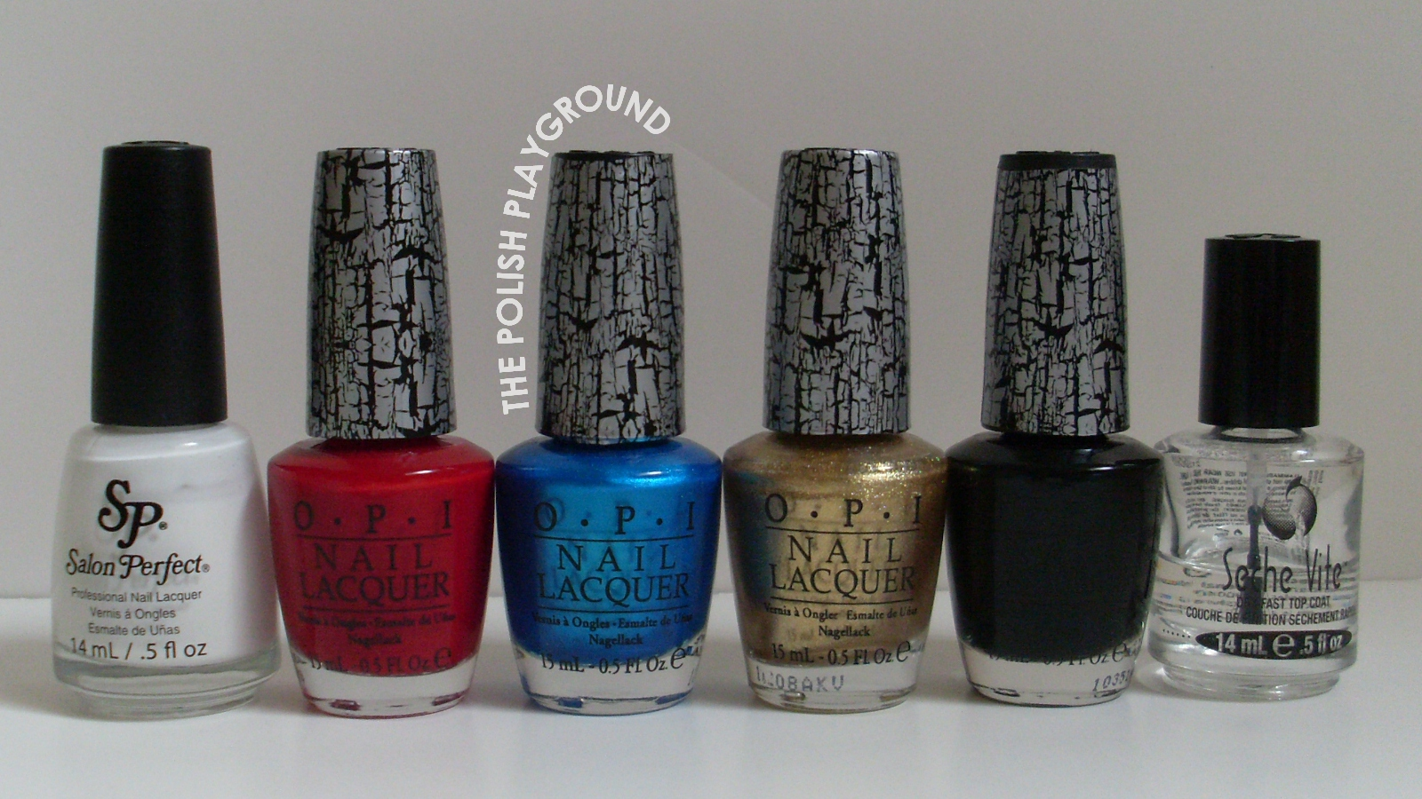 Salon Perfect, OPI, Seche Vite