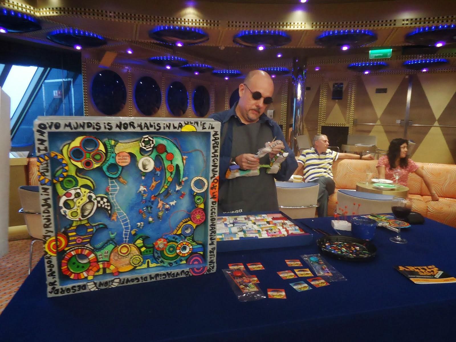 Trabajando a  bordo del Crucero Costa Favolosa