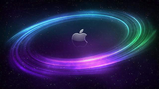 Mac In Space Computer Wallpaper HD