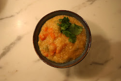 Luscious Red Lentil stew