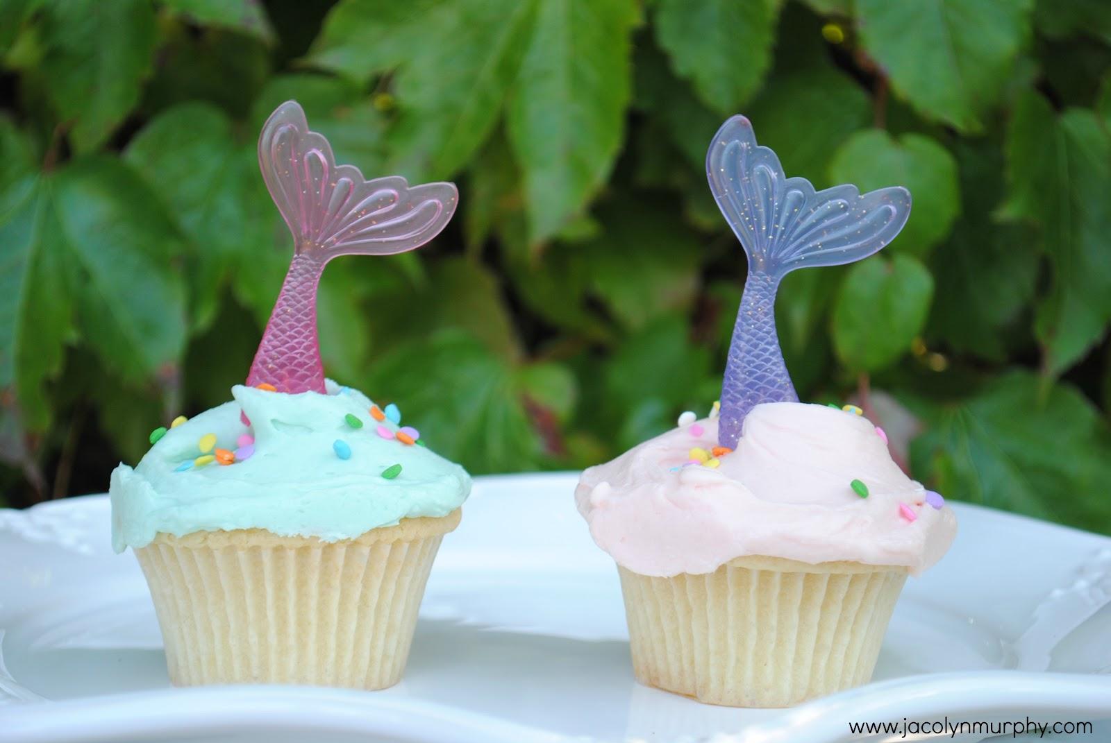 Jac o' lyn Murphy: Dive In! Mermaid Cupcake Toppers
