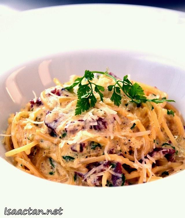 #4 Spaghetti Carbonara - RM39