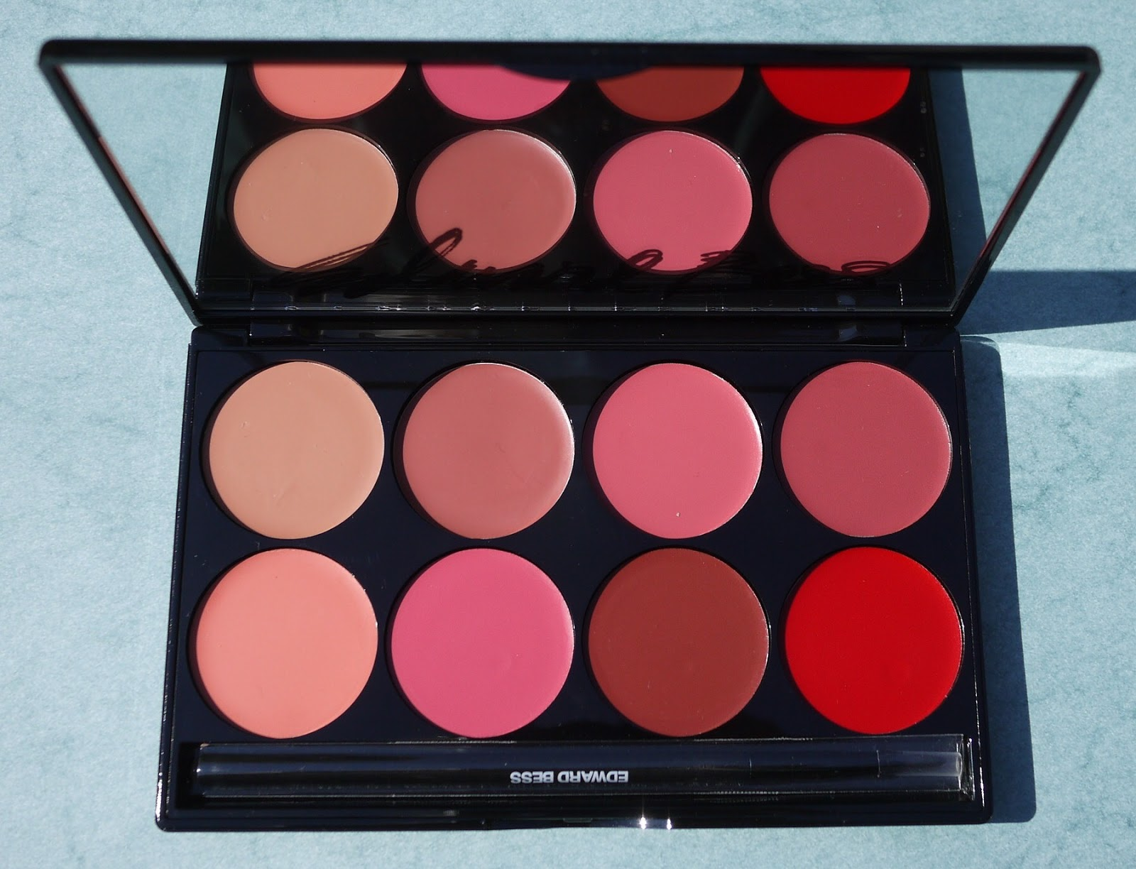 Review of Edward's Best 8-Color Lipstick Palette on Best Things in Beauty