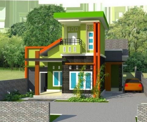 Contoh Desain rumah minimalis Modern Terbaru 2014