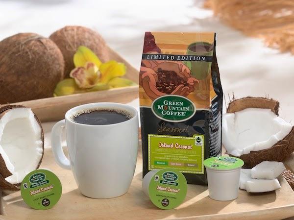 Keurig Green Mountain Island Coconut Coffee