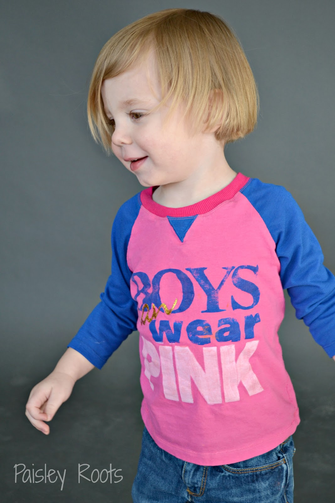 Paisley Roots: Boy's Can Wear Pink