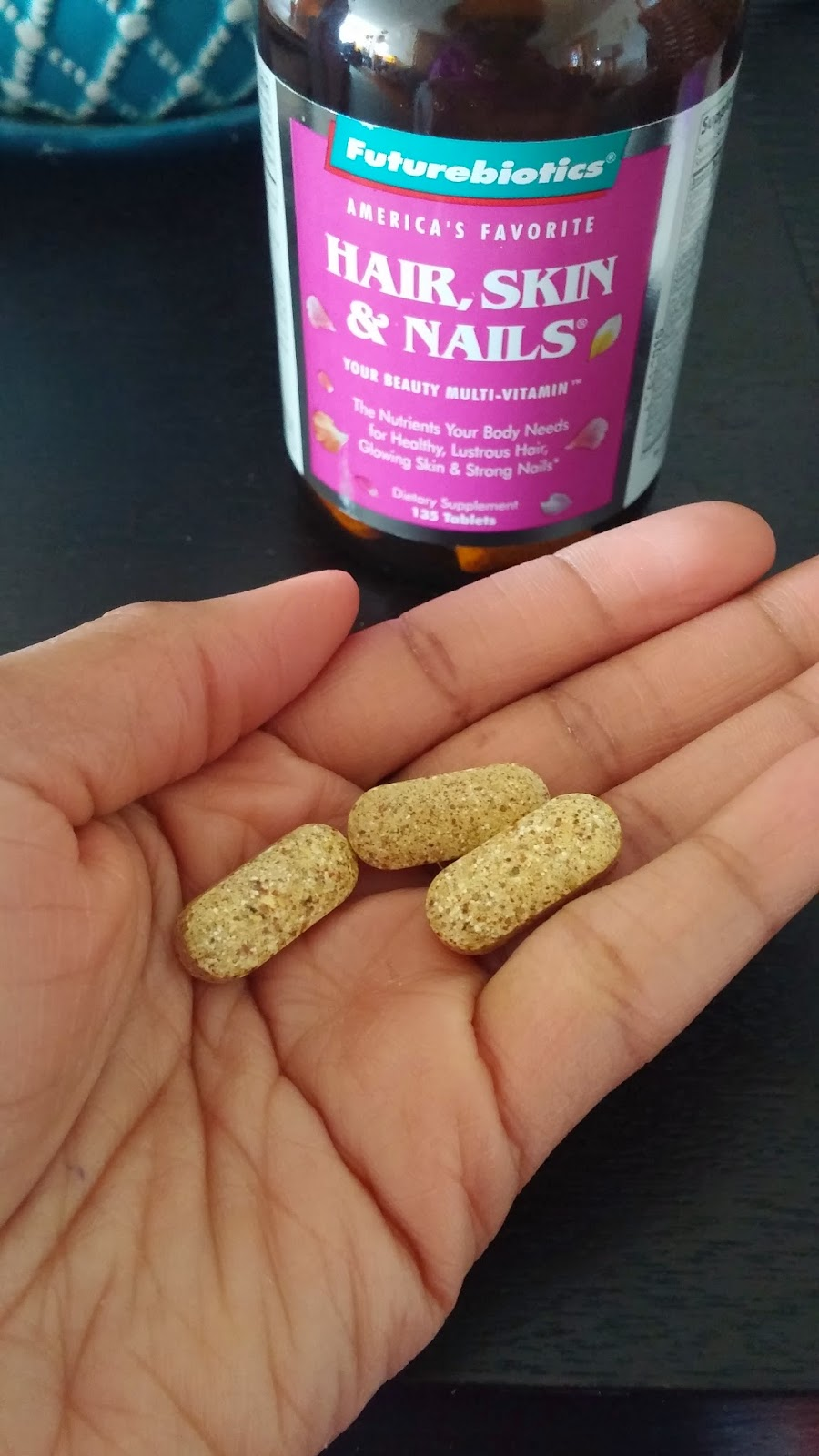 Futurebiotics Hair, Skin and Nails Review | Naturalle Drea