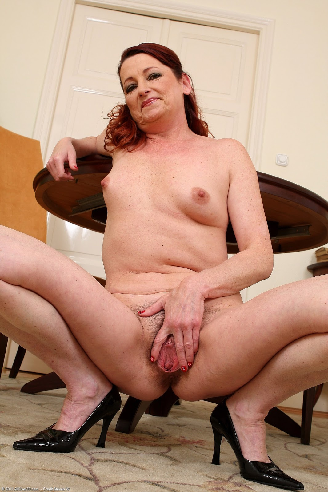 mature naked from hungary
