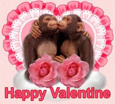 Happy Valentine Greeting Card