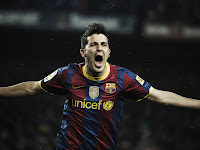 1152x864, soccer, barcelona, hd, david villa