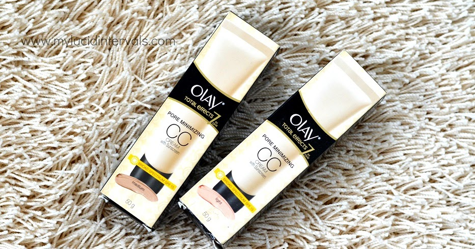Review Olay Total Effects Pore Minimizing CC Cream My