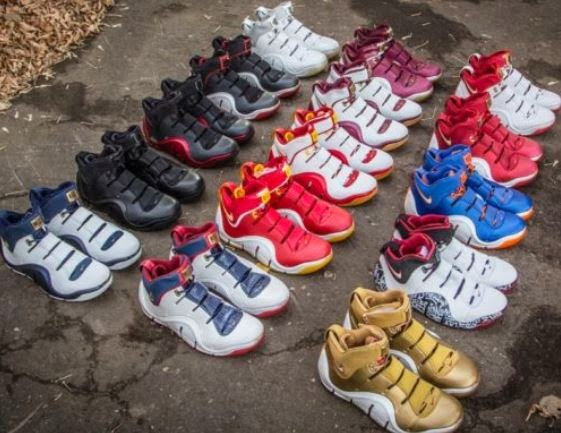 1a4d158fe8a7 THE SNEAKER ADDICT  Nike Zoom LeBron IV 4 Graffiti
