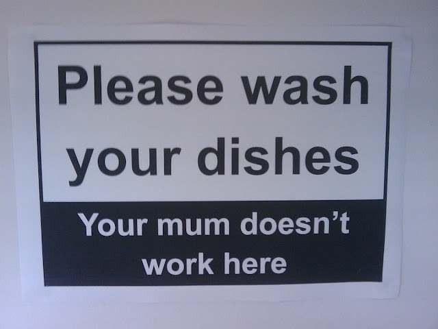 Your Mom doesn't Work Here, funny sign