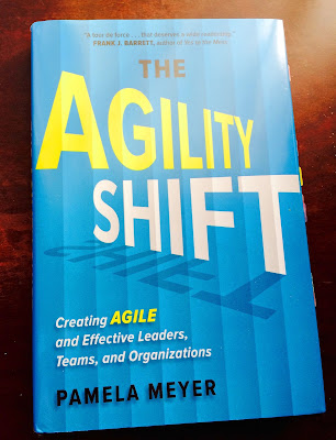 Agility Shift book cover Pamela Meyer