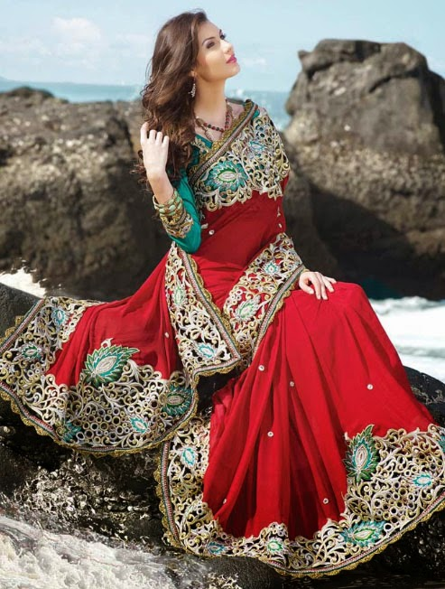 online shopping bridal sarees has made women around the globe wear