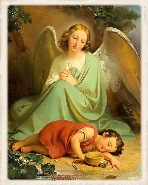 Resultado de imagen para devocion a los angeles custodios