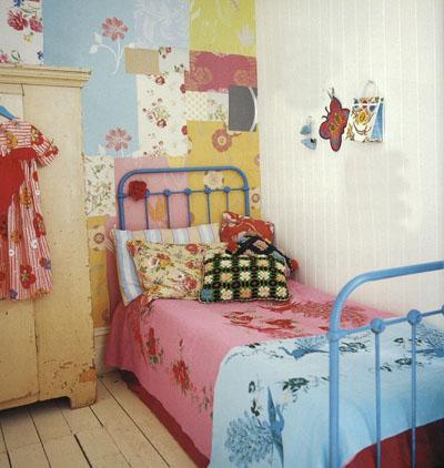 Vintage home decoracion de cuartos infantiles estilo vintage for Cuartos de nina vintage