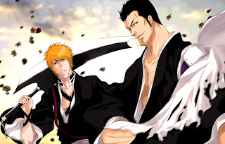 Bleach Kurosaki Ichigo Isshin Anime Shinigame Soul Reaper Sword HD Wallpaper Desktop Background