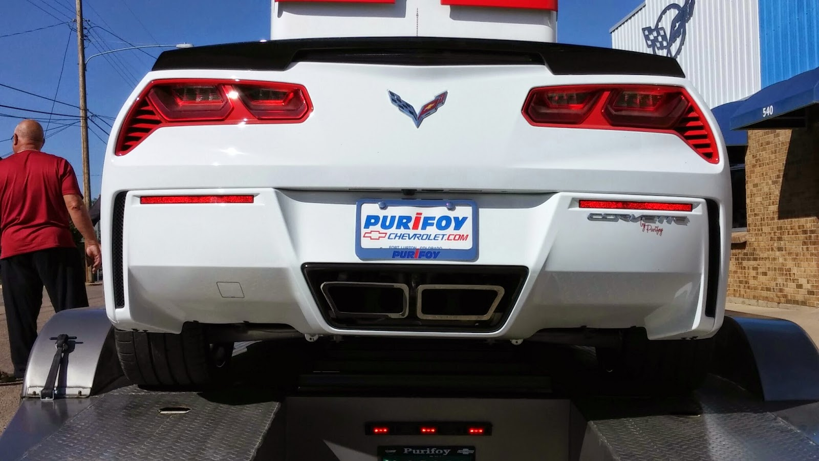 Purifoy Chevrolet Custom Corvette