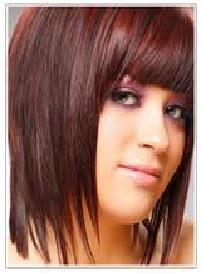 Heyruna: Women Brown Hair Light Red Highlights