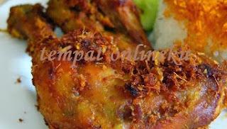resep ayam goreng lamongan