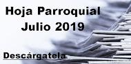 Hoja Parroquial Julio 2019