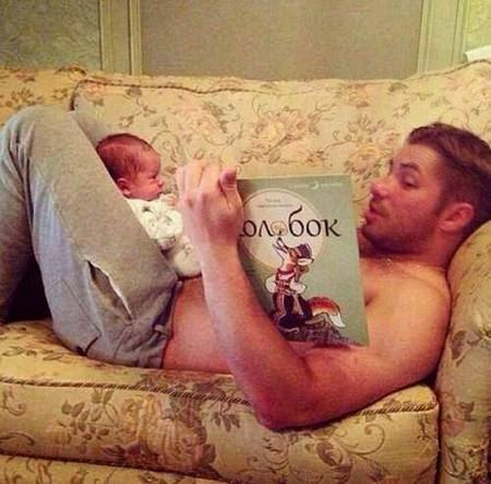 Momen Kedekatan Ayah,ayah,anak,ayah dan anak,Kedekatan Ayah dan Anaknya, Momen Kedekatan Ayah