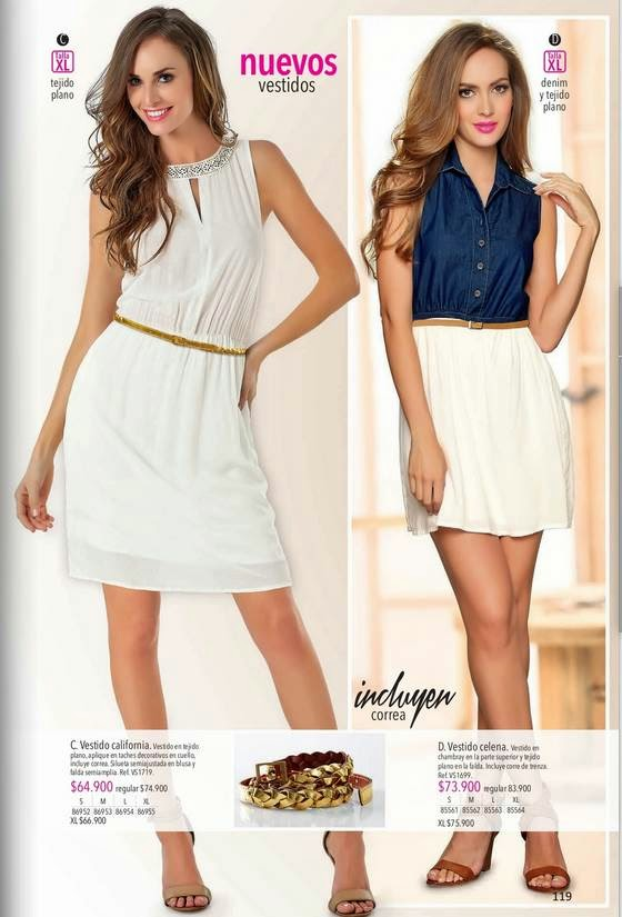 lebon Vestidos de Moda 2015-C-2